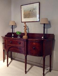 English early 19th C. Mahogany Sideboard