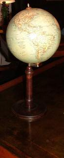 Beautiful early 20th C globe