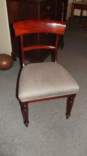Set of 4 early 19thC - Will IV chairs in mahogany