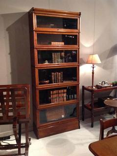 English 19 th C oak bookcase