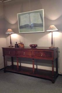 very nice late 18th C Welsh sideboard in oak