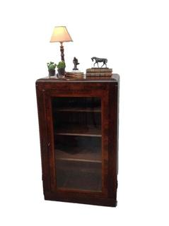very nice burr walnut antique cabinet.