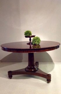 A early 19th Century Regency Centre table In Rosewood.