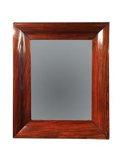 An English Early 19th Century Rosewood Mirror.