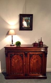 Very nice Rosewood William IV Chiffonier